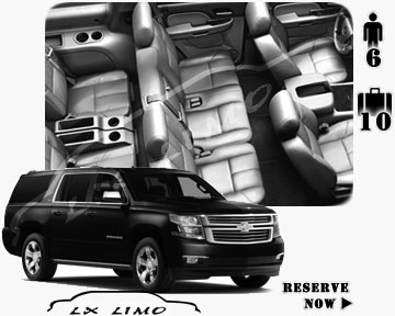 SUV Suburban for hire in Denver