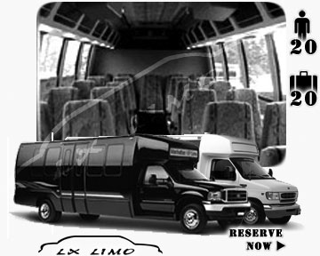 Denver Mini bus for hire in Ontario