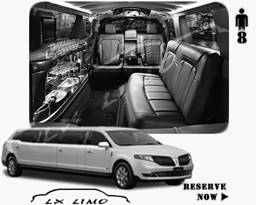 Stretch Wedding Limo for hire in Denver, ON, Canada